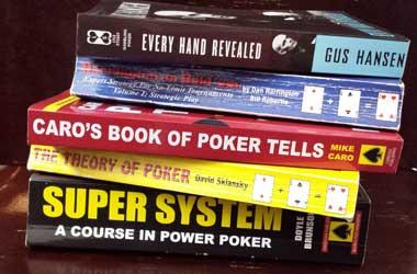Poker Books To Kickstart Aspiring Poker Players Journey