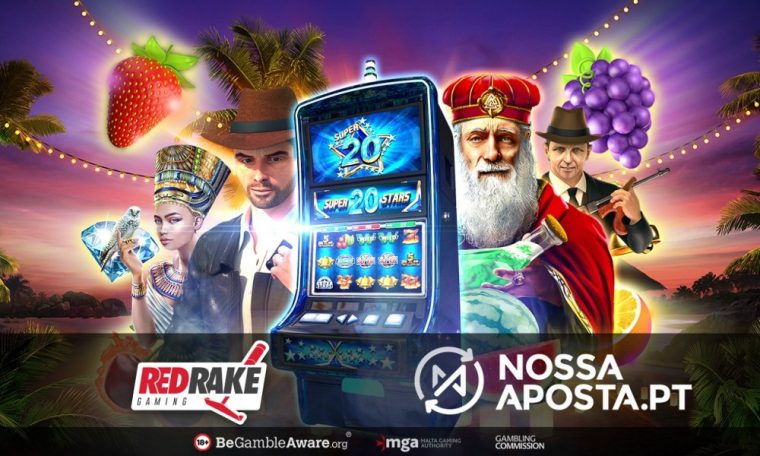 Red Rake Gaming partners with Portuguese leading online sportsbook and casino operator, Nossa Aposta