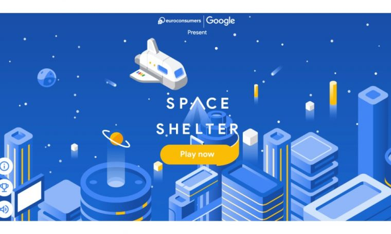 Co-creating for a safer web: Ahead of EU Cybersecurity Month, Google and Euroconsumers launch Space Shelter